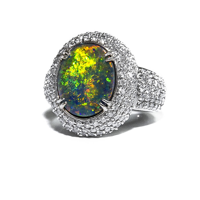 Lightning Ridge Black Opal 3mm ONE Calibrated Cabochon Round Solid BlueGreen Australian Boulder Jelly  Stacking Rings Ring Jewelry Repair