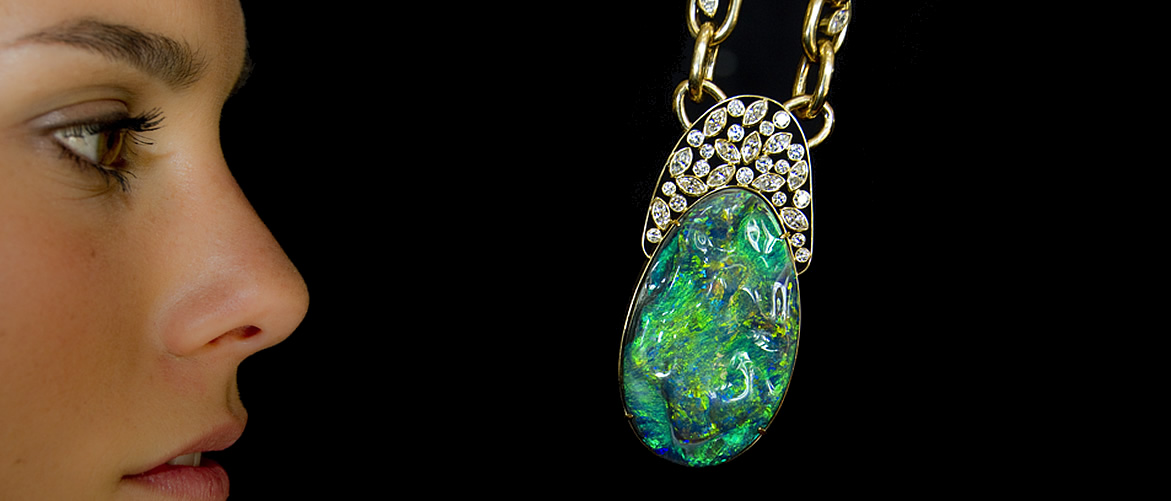 Award winning opal jewelry from the lightning ridge collection