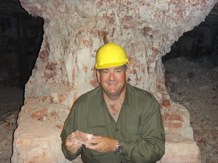 Mine Shaft Lightning Ridge Opals